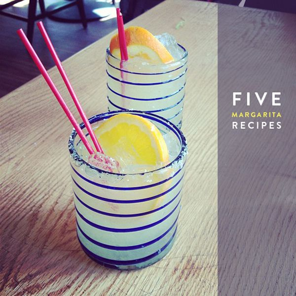 Five margarita recipes to try!