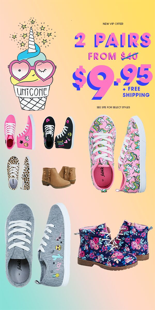 Back To School Sale For A Limited Time Only Get 2 Pairs Of Shoes