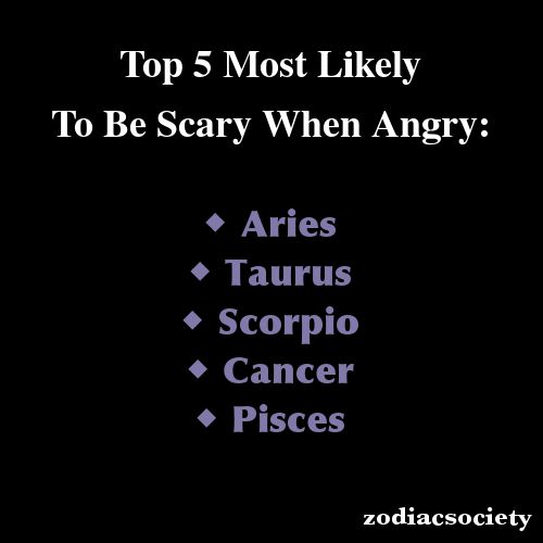 Zodiac Astrology Aquariustop 5 Most Likely To Be Scary