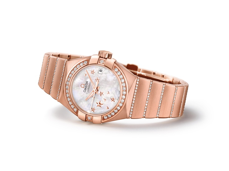 Omega Constellation - Rose Gold with diamonds