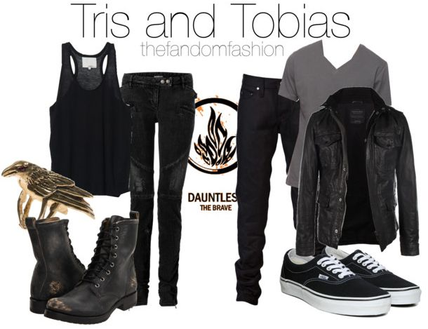Tris and Tobias inspired outfits                                                                                                                                                                                 More