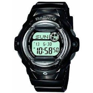 Casio Women's Baby-G Black Digital Sport Watch