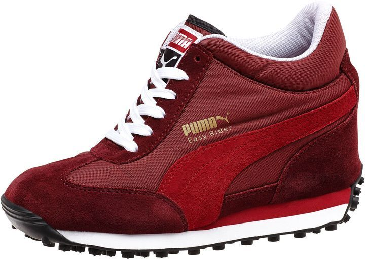 4bd4416810fa Puma Easy Rider Wedge Lo Women s Wedge Sneakers on shopstyle.com ...