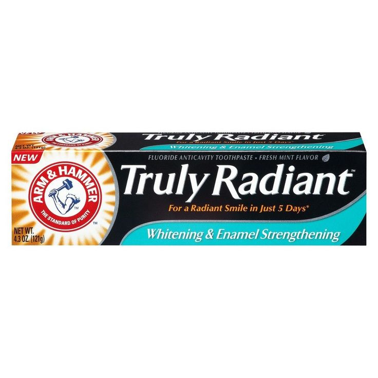 Arm & Hammer Truly Radiant Fluoride Anticavity Toothpaste - Fresh Mint (4.3 oz)