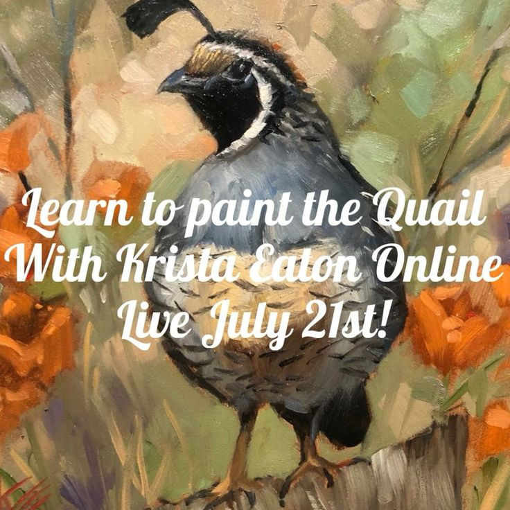Learn to paint on Zoom with Krista Eaton [Video] in 2020