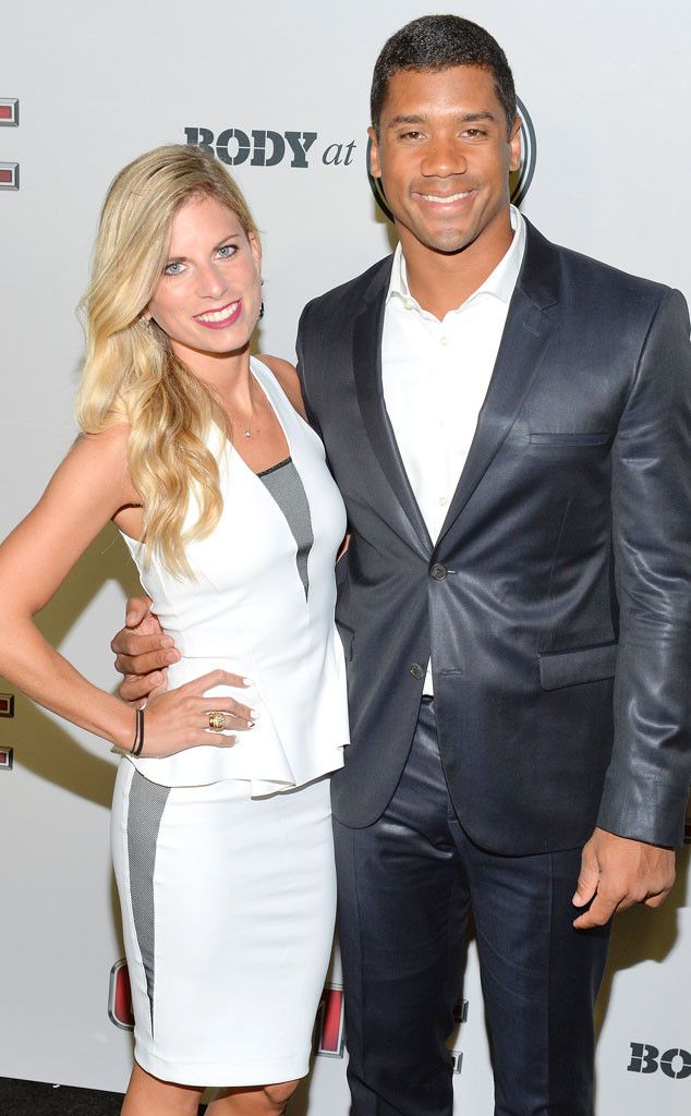 Seattle Seahawks' Russell Wilson Files for Divorce From Wife After Two Years of Marriage  Russell Wilson, Ashton Meem
