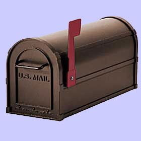 Decorative Residential Mailboxes | Antique Rural Mailboxes - Residential Mailboxes at NationalMailboxes ...