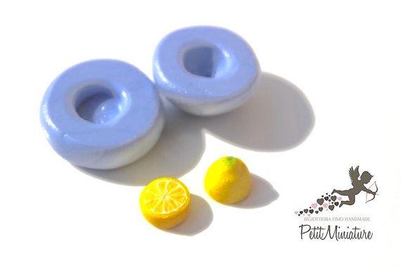 Stampo Limone in Silicone Flessibile per pasta di PetitMiniatures