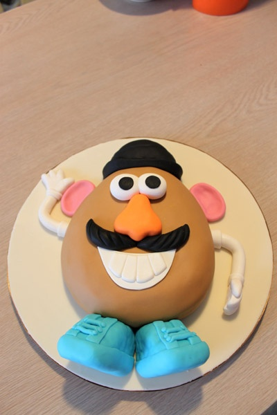 Toy Story Mr. Potato Head Cake by Trace of Cakes, via Flickr