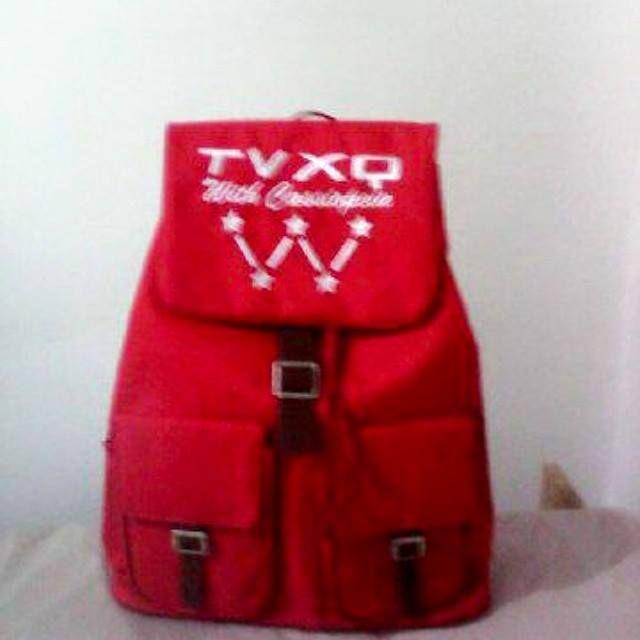 [READY STOCK] TAS RANSEL TVXQ  Harga: Rp. 165.000 Full Bordir  #tvxq #cassiopeia #dbsk #tastvxq #tvxqbackpack #backpacktvxq #yunho #changmin #jaejoong #junsu #yoochun #tvxqstuff #tvxqshop #taskpop #tas #jualtas #backpackkpop #kpopbags #kpopbackpack