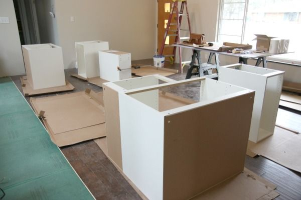 Base Cabinet Install 1. Typically, Upper Cabinetry Is Hung
