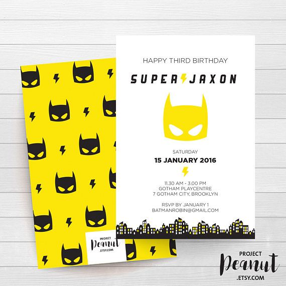 Superhero Invitation - Superhero Birthday - Superhero Mask - Boy Superhero - Boy Birthday - 3rd Birthday - Superhero Party - Superhero Cape Calling all superheroes to celebrate your little superhero!  PLEASE NOTE:  + You are purchasing a digital file only.  + NO PRINTED MATERIALS ARE INCLUDED!  + There are NO REFUNDS as this is a digital product.  + A reminder that this is a DIGITAL PRODUCT.  WHAT DO YOU GET? 4x6 inch digital printable invitation - with *bonus reverse side* (The files are…