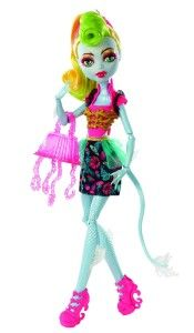 Monster High Dolls: Freaky Fusion Lagoonafire Doll Lagoonafire is the result of the fusion of Lagoona Blue (Daughter of a Sea Monster) and Jinafire Long (Daughter of a Chinese Dragon). Lagoona and Jinafire are both well-loved Monster High characters.  http://awsomegadgetsandtoysforgirlsandboys.com/monster-high-dolls/ Monster High Dolls: Freaky Fusion Lagoonafire Doll