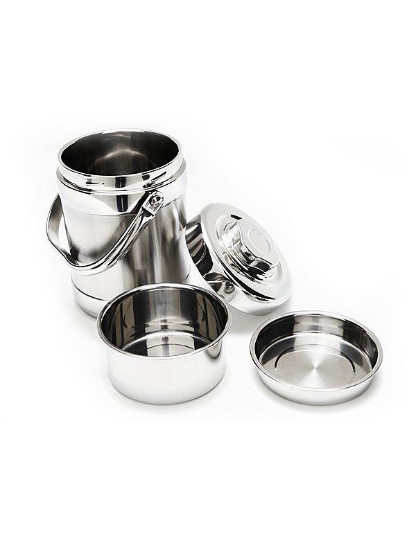 Onyx Lebensmittelbehälter / Tiffin isoliert 1,8L -...