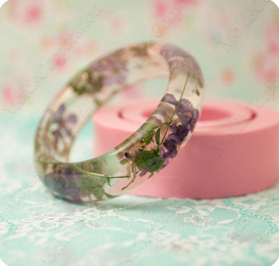 Bangle silicon mold, bracelet mould, for epoxy resin, MB30 (22/50)