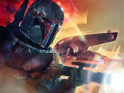 Star Wars - Mr. Fett - John Alvin - World-Wide-Art.com