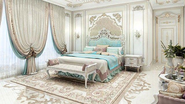 Bedroom Interior Design In Dubai By Luxury Antonovich Design Beautiful Home Designs Bedroom Design Luxurious Bedrooms