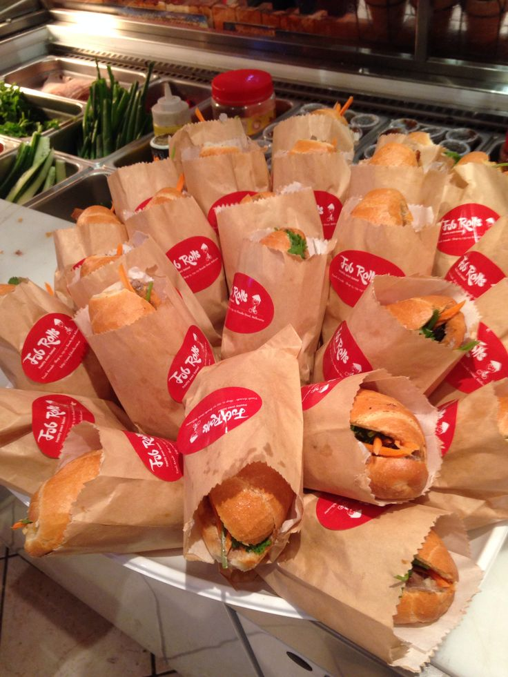 Banh Mi Sliders For NAB 500 Bourke St Corporate Catering