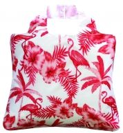Omnisax Eco Bag - Tropical Bag 4, you have to love a flamingo bag, get yours now from Funk Melbourne Gift Shop