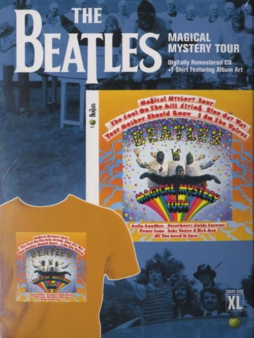 The Beatles Magical Mystery Tour 2009 USA CD album CAP582232: THE BEATLES Magical Mystery Tour (2009 US Stereo issue exclusive limited…