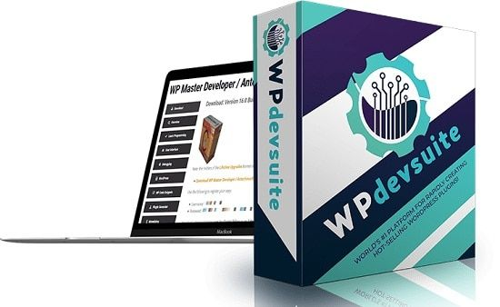 WP Dev Suite – what is it? WP Dev Suite is the world's biggest and easiest WP plugin development platform ever! It contains 2 powerful cloud-based applications that allow literally anyone to go from zero to their own lucrative software empire in 2 easy steps.