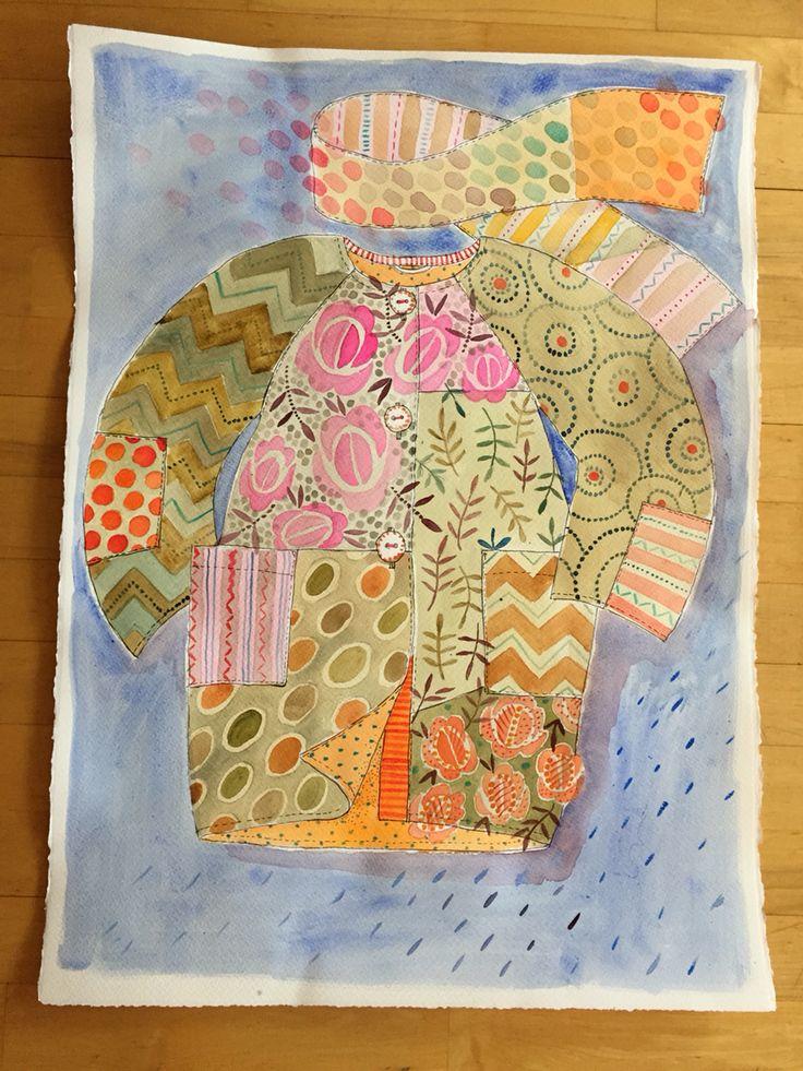 All pattern & flowers by Gudrun