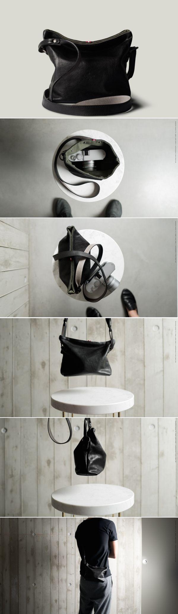 #hardgraft Take Camera Bag / Coal