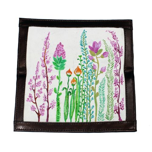 Dompet Lukis Flower Edition 3 - http://www.slightshop.com/produk/dompet-lukis-flower-edition-3/