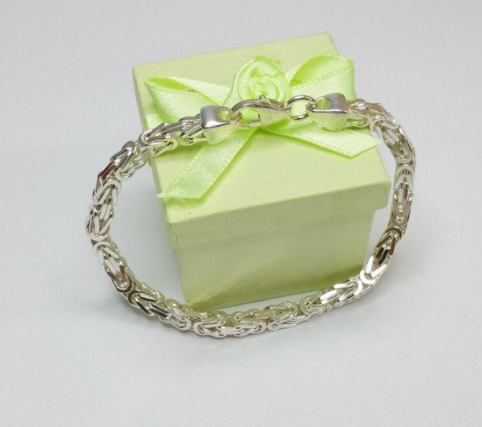 925+Silber+Königskette/Armband+18+cm+4,2+mm+SA123+von+Atelier+Regina++auf+DaWanda.com