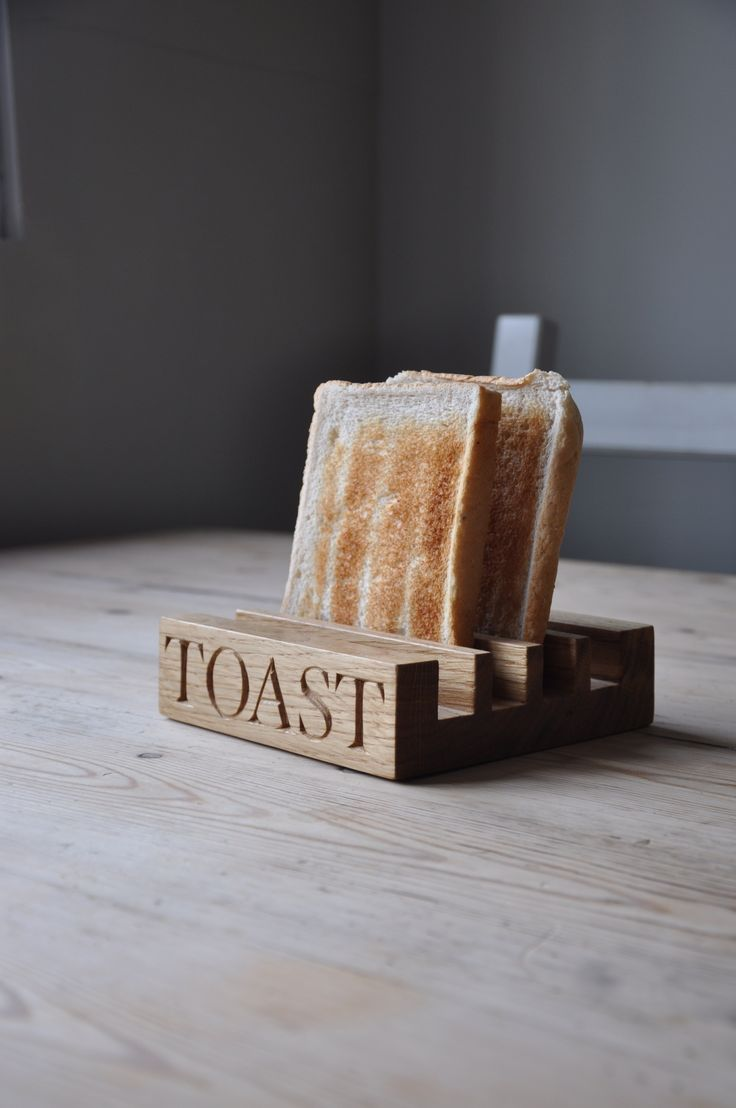 How Do You Like Your Toast? Not Soggy I Presume. Find This Pin And More On Kitchen  Accessories Oak ...