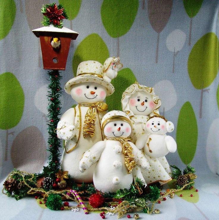 flia de muñecos de nieve