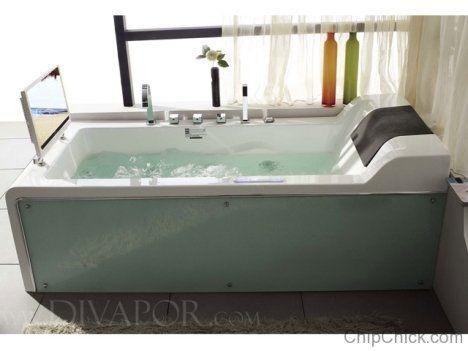 High Tech Bathtub - Who said baths aren't cool?