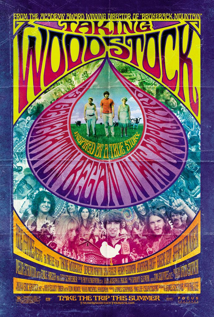 60S+Concert+Posters | Taking Woodstock Film Preview - Cinema Sight