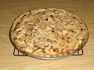 Apple pizza pie | Food - Cookies! Cakes & Baked Goodies | Pinterest