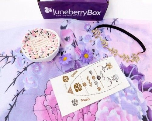 WIN A FREE LIFESTYLE BOX - Juneberry Box Review + Coupon Code & Giveaway – July 2015 <3