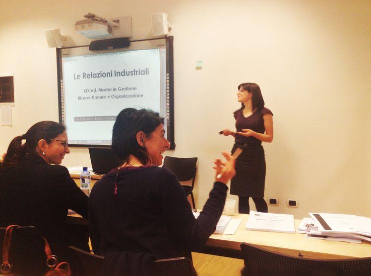 ISTUD Business School, Industrial Relation Speech by Angela Bova
