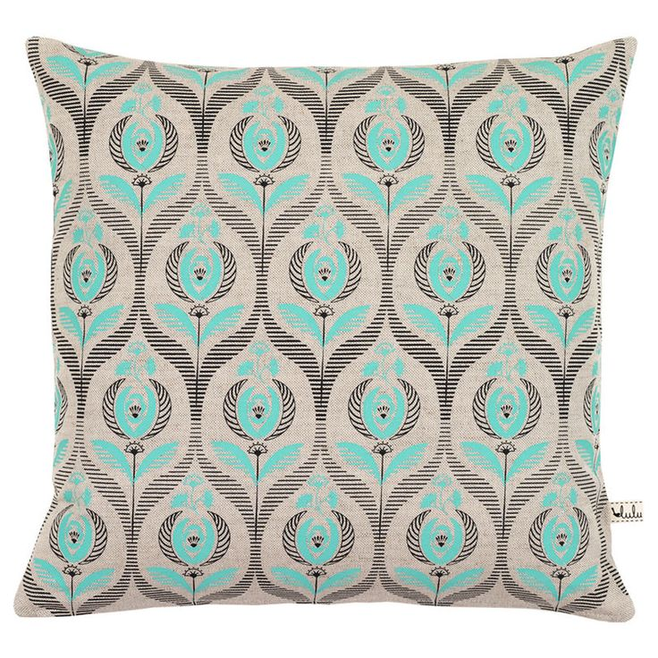 Art Deco cushion by Cut Out Girls