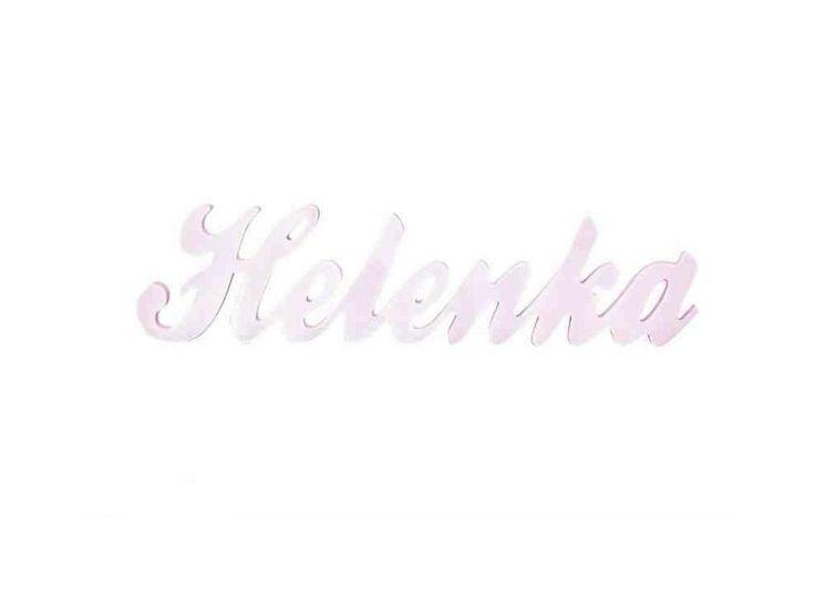 Imiona na zamówienie dla dziewczynki www.totodesign.pl