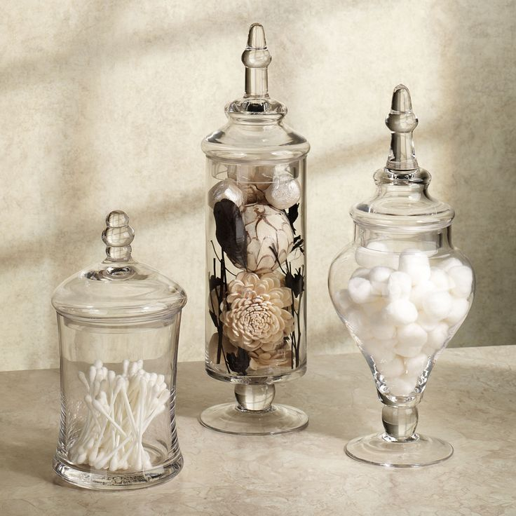 Bathroom Jar 256 best glass apothecary jars images on pinterest | apothecaries
