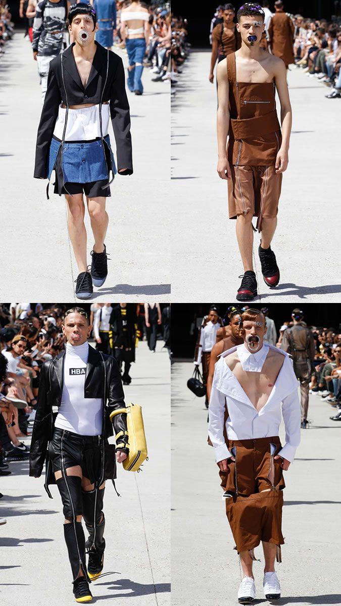cool The Weirdest Menswear Shows Ever