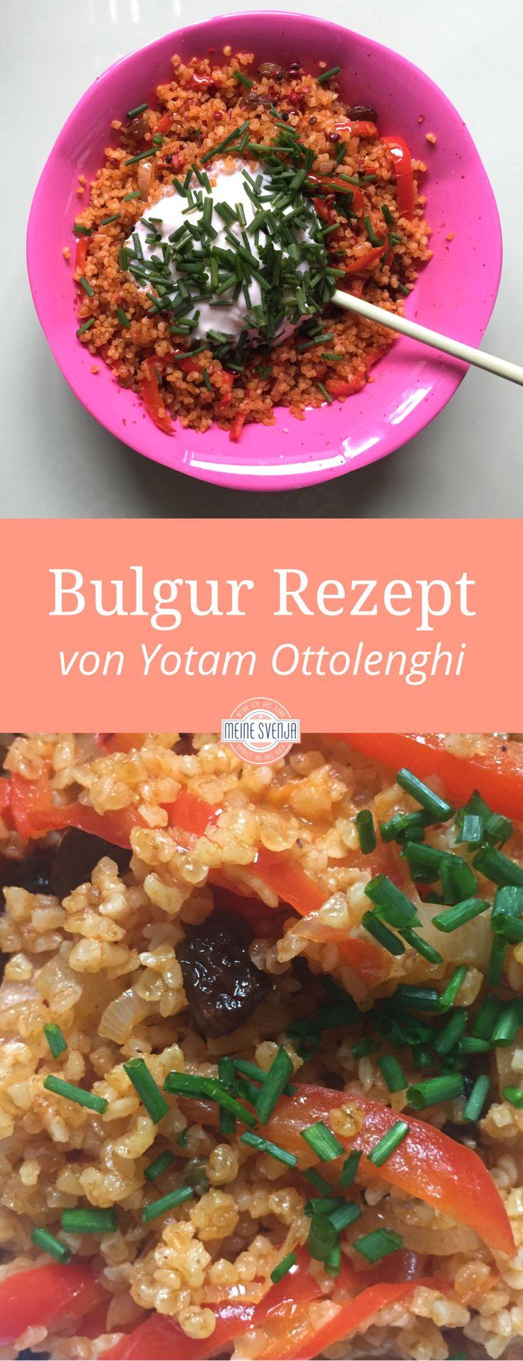 Bulgur Rezept von Yotam Ottolenghi - orientalisches veganes Rezept