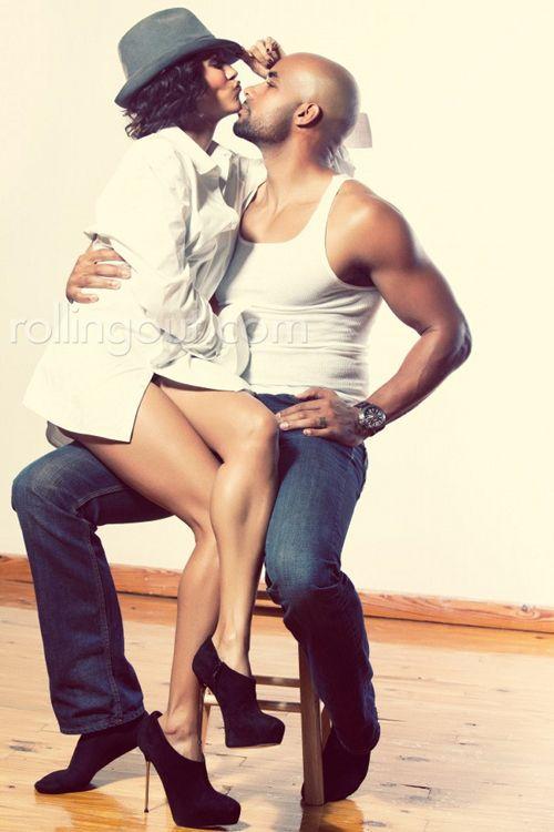Boris & Nicole Kodjoe in Rolling Out Magazine ~ Real Love <3