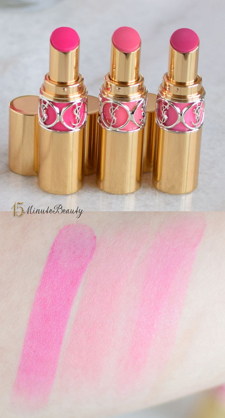Review and Swatches: YSL Rouge Volupte Shine Lippies Exclusive to Nordstroms