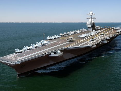 The USS Gerald R. Ford (CVN 78) is the most technologically advanced warship ever built. - Page 50