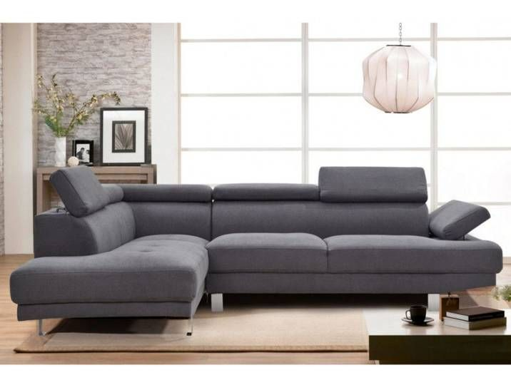 Ecksofa Stoff Danvin Grau Ecke Links In 2020 Home Decor Furniture Couch