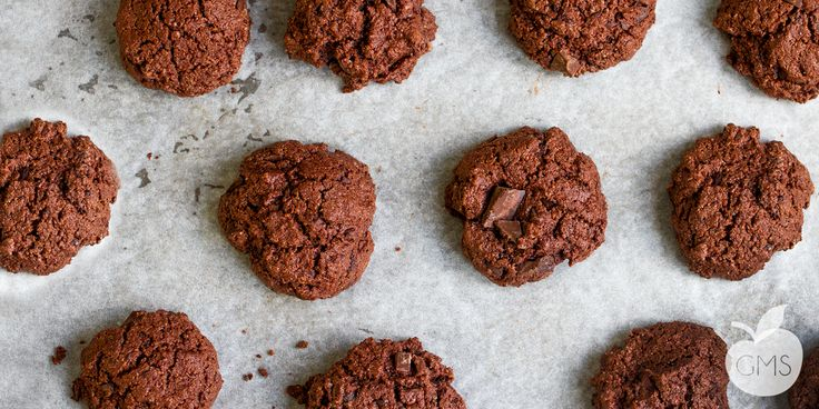 La deliziosa ricetta per preparare questi biscotti al doppio cioccolato completamente vegan, facilissimi da fare e sopratutto TROPPO BUONI!!!!!