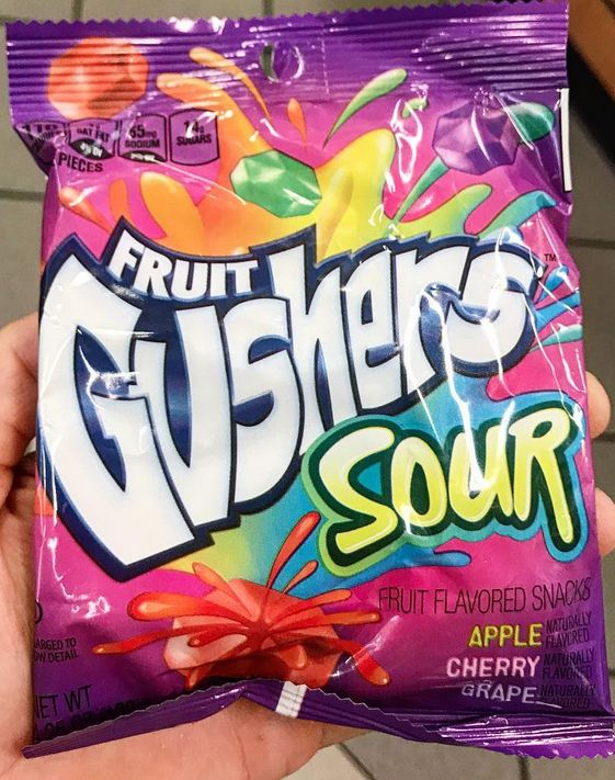 Fruit Gushers Sour