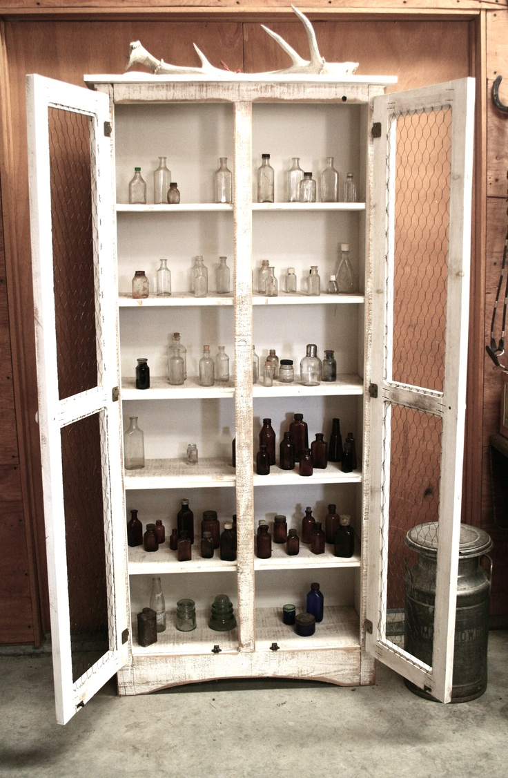 apothecary cupboard