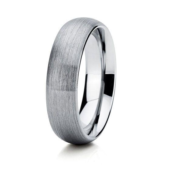Tungsten Mens Wedding Band,Tungsten Wedding Band,Tungsten Wedding Ring,Tungsten Unisex Band, Anniversary Ring