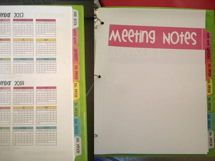 My Kryptonite - the *perfect* teacher plan book